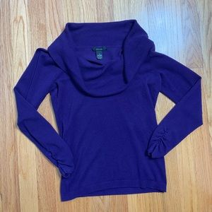 Alfani Cowl Neck Sweater